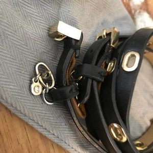 CAbi Jewelry - Cabi Black Wrap Bracelet